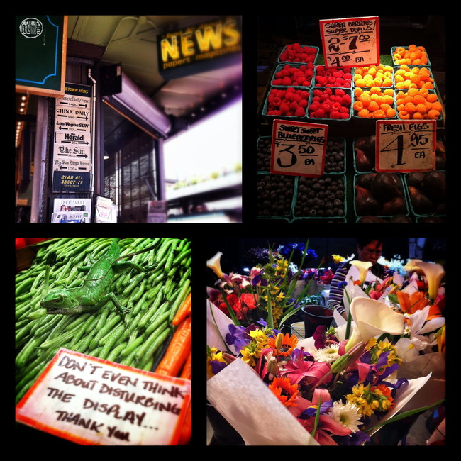 Pike Place Market , Seattle, Washington