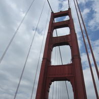 Golden Gate Bridge, Mill Valley, California