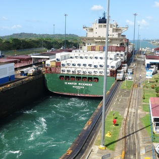 Gatun Locks, Colon, Panama