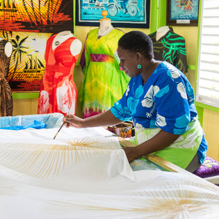Caribelle Batik at Romney Manor, Old Road Town, Saint Kitts and Nevis