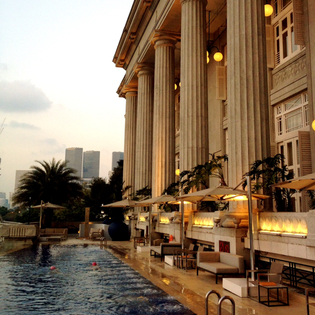 The Fullerton Hotel, Singapore, Singapore