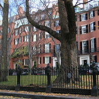 Louisburg Square, Boston, Massachusetts