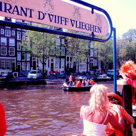 Restaurant D'Vijff Vlieghen dock, Amsterdam, The Netherlands