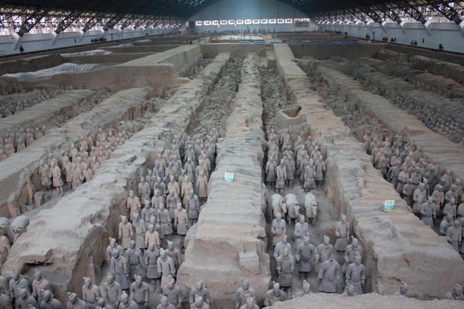Terra-cotta Warriors and Horses, Xi'an, China