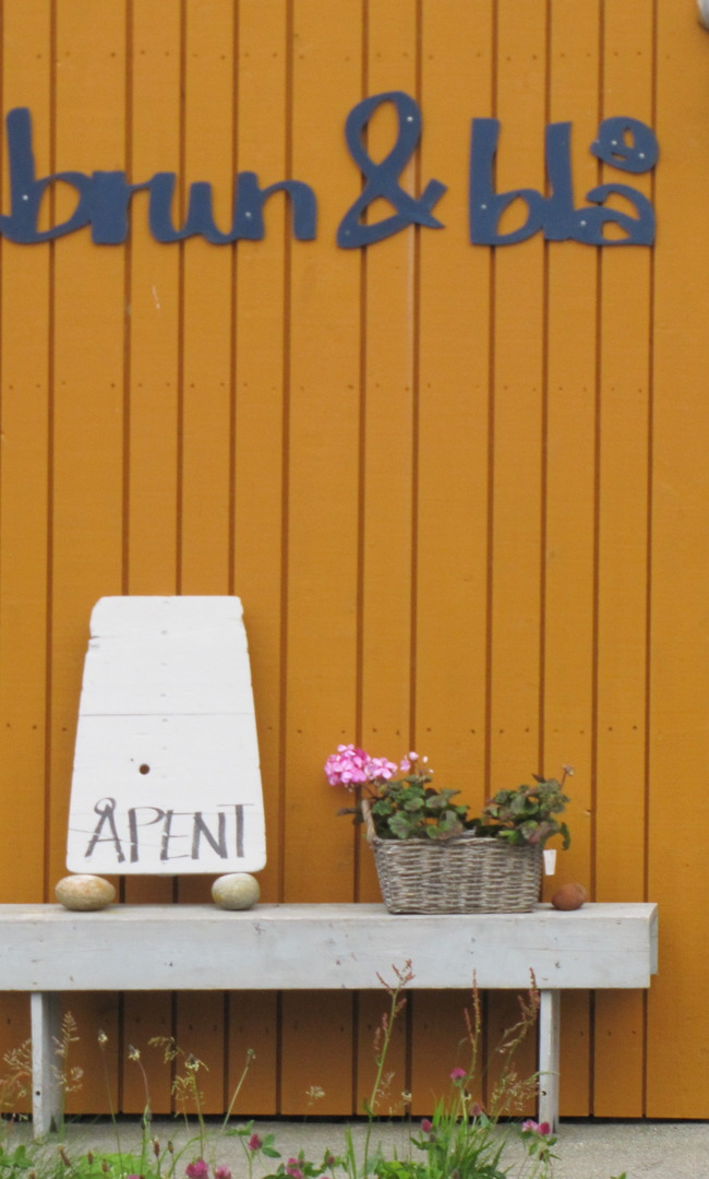 Pottery Shop in Ona, Norway, Sandøy, Norway