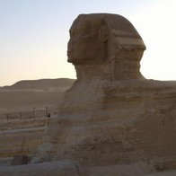 Temple of The Sphinx, Nazlet El-Semman, Egypt