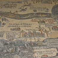 Saint George Church - Mosaic Map, Madaba, Jordan