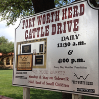Cowtown Cattle Drive, Fort Worth, Texas