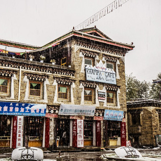 Khampa Cafe, Garze, China
