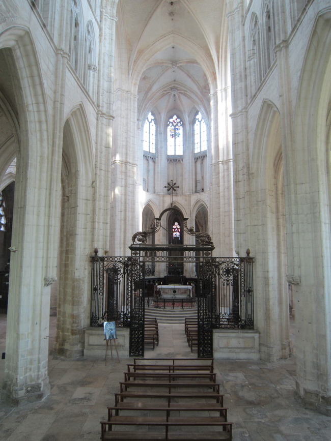 Abbey of Saint-Germain d'Auxerre, Auxerre, France