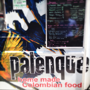 Palenque Colombian Food Truck, New York, New York