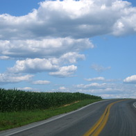 Winding Farm Roads, Gordonville, Pennsylvania