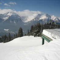 Lake Louise Ski Area, Lake Louise, Canada