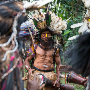 Tigibi Village, Southern Highlands Province, Papua New Guinea