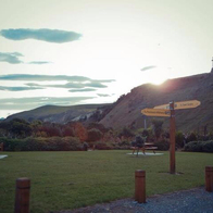Kaikoura, Top Ten Holiday Park, Kaikoura, New Zealand