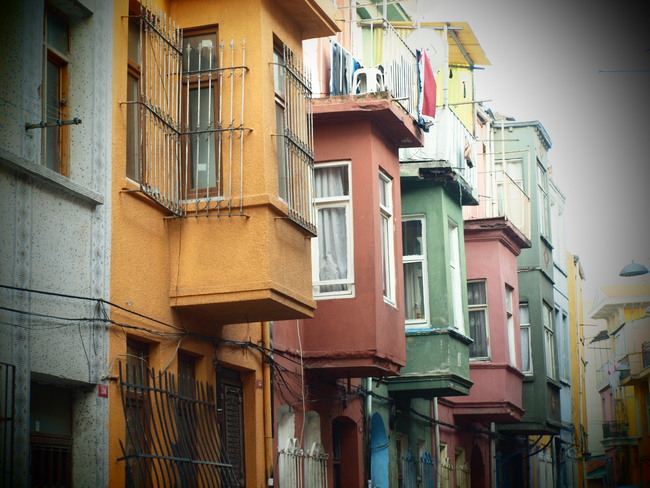Fener and Balat District, Istanbul, Turkey