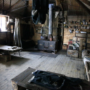 Shackleton's Hut, Cape Royds, Antarctica