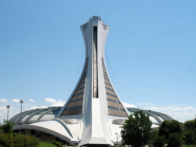 The Olympic Stadium, Montreal, Canada