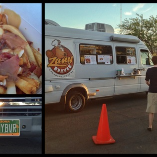 Zany Beaver food-truck, Tucson, Arizona