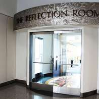 Berman Reflection Room, International Terminal A, San Francisco, California