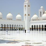 Shaikh Zayed Bin Sultan Al Nahyan Mosque, Abu Dhabi, United Arab Emirates