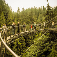 Cliffwalk at Capilano Suspension Bridge Park, North Vancouver, Canada