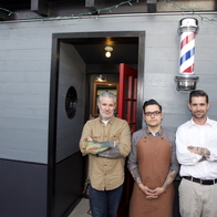 Temescal Alley Barber Shop, Oakland, California