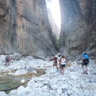 Samariá Gorge, Chania, Greece