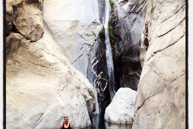 Tahquitz Canyon Waterfall, Palm Springs, California