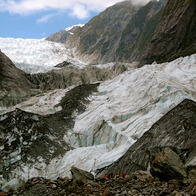 Franz Josef Glacier, Westland National Park, New Zealand