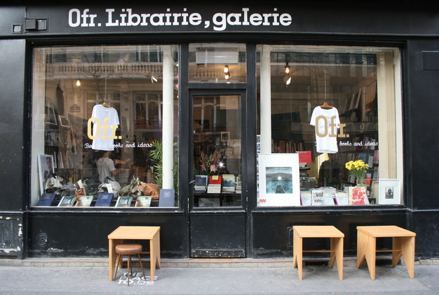 Ofr system'bookshops, Paris, France