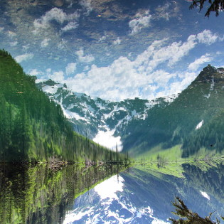 Goat Lake, Mt. Baker National Forest, Washington