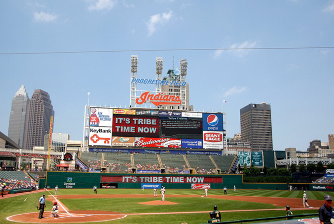 Progressive Field, Cleveland, Ohio