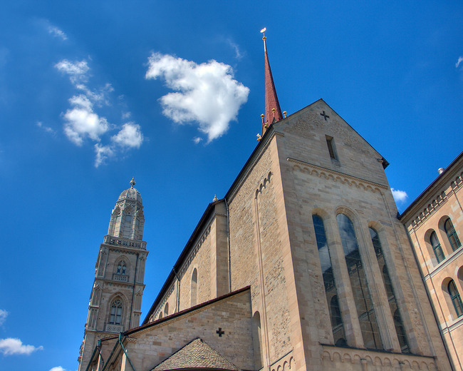Grossmünster, Zurich, Switzerland