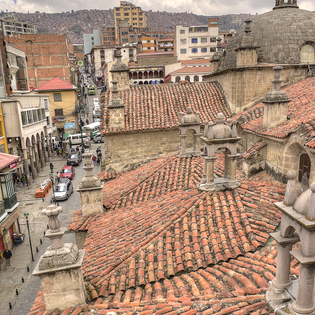 Plaza San Francisco, La Paz, Our Lady of Peace, Bolivia