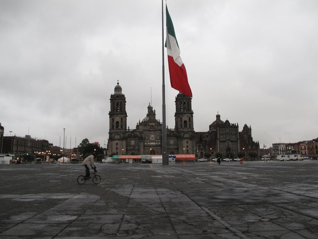 Plaza Mayor, Mexico City, Mexico