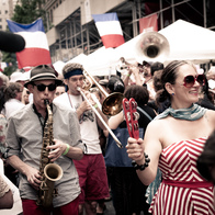 Bastille Day, NYC, New York, New York