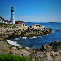 Portland Headlight Lighthouse, Cape Elizabeth, Maine