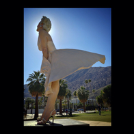 """Forever Marilyn"" Sculpture, Palm Springs, CA, Palm Springs, California"
