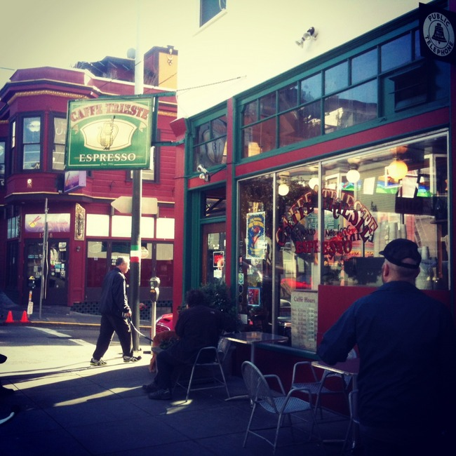 Caffe Trieste, San Francisco, California