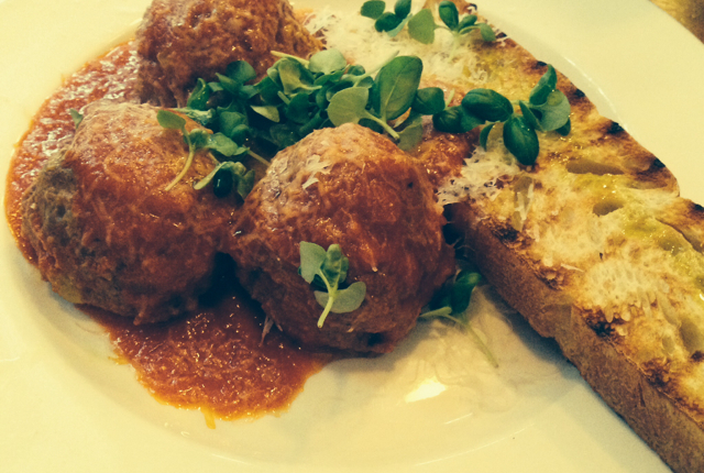 Try the meatballs at Vancouver's Ask for Luigi