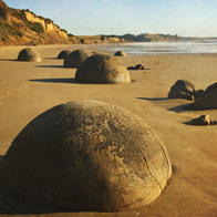 Moeraki Boulders, Hampden, New Zealand