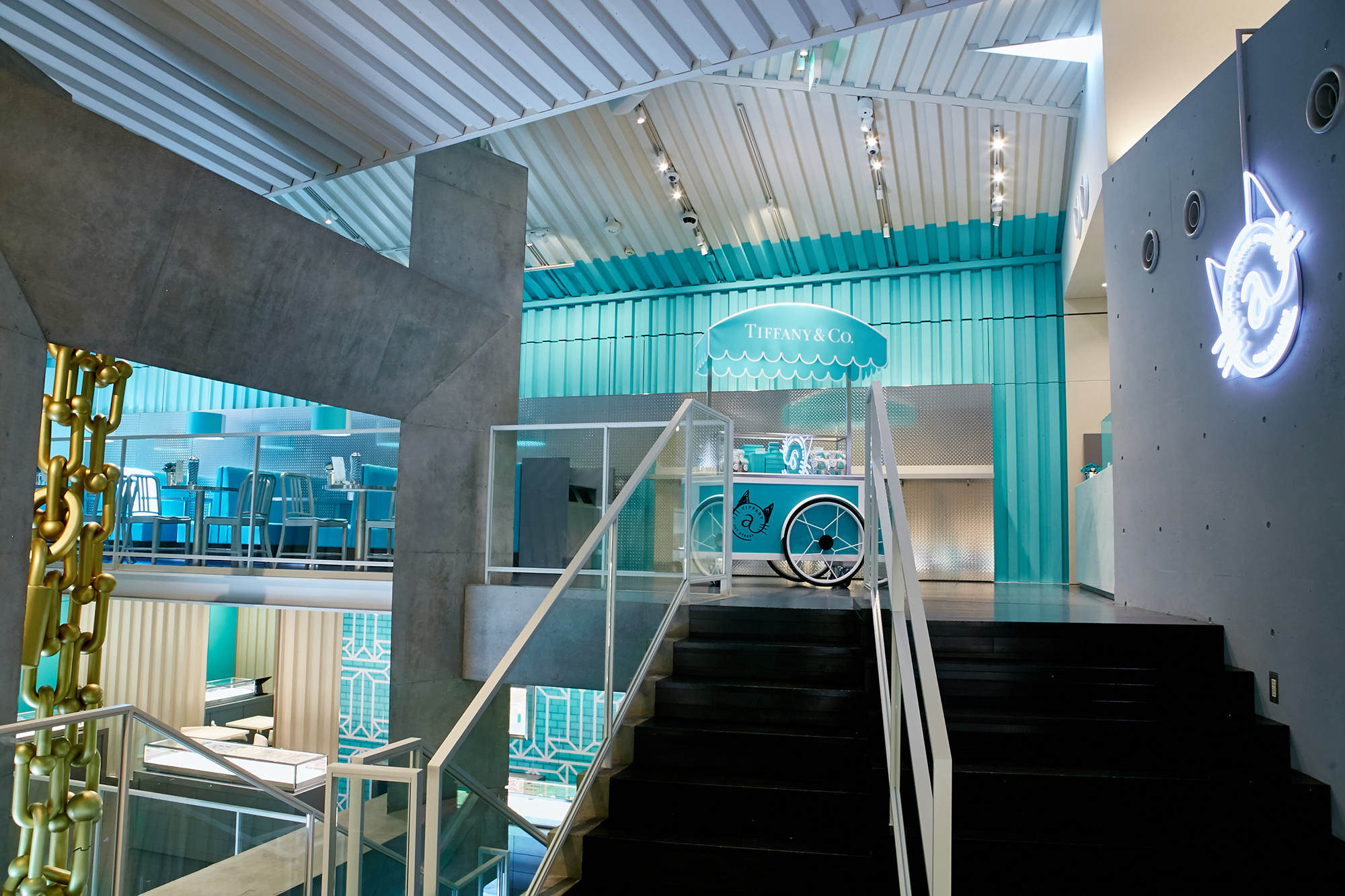 96e9d95d196ab Japan's First Tiffany Cafe and Newest Concept Store Is Opening in ...