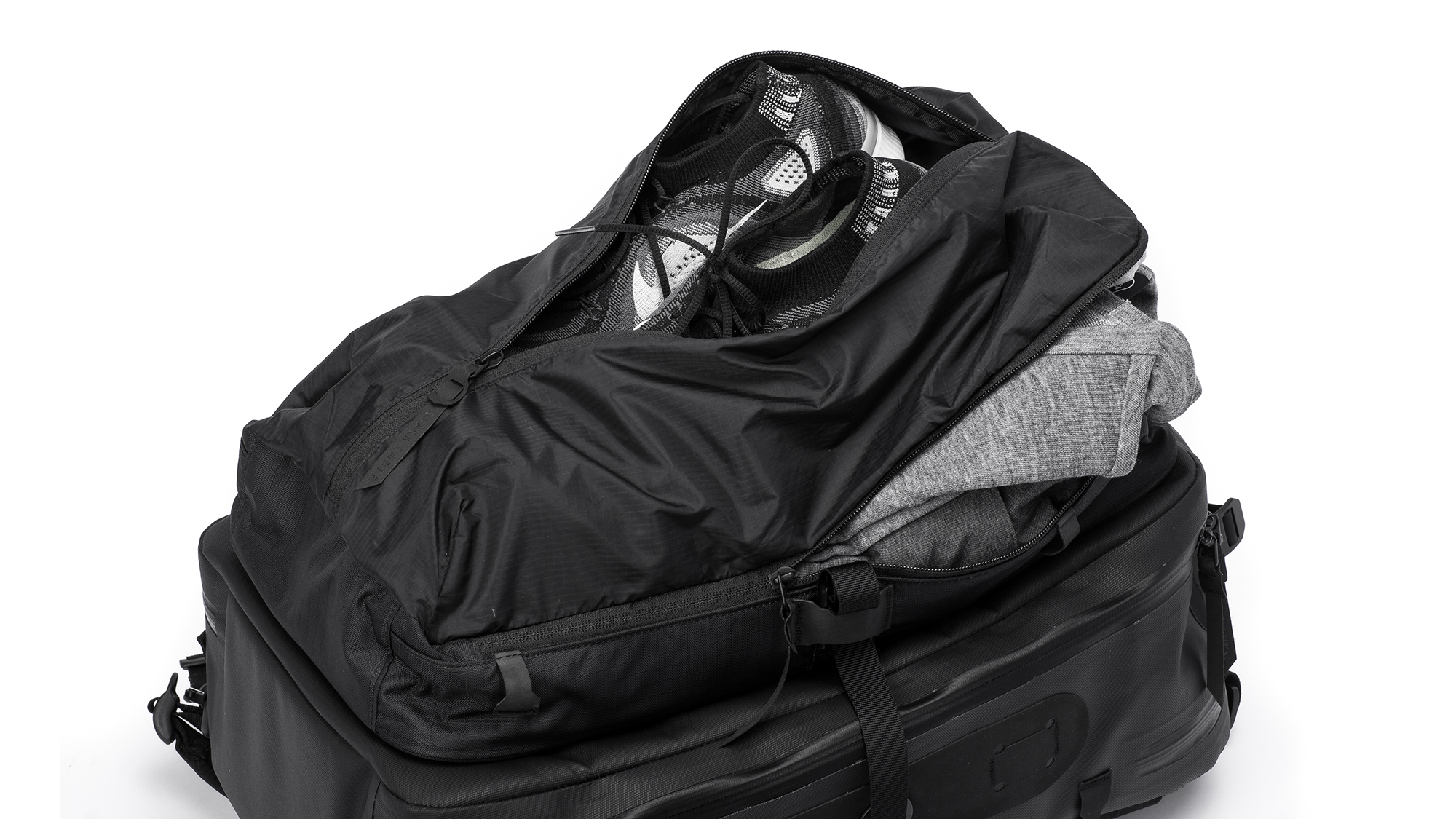 91e11c98e649 The Black Ember Citadel modular backpack aims to be all bags to all  travelers
