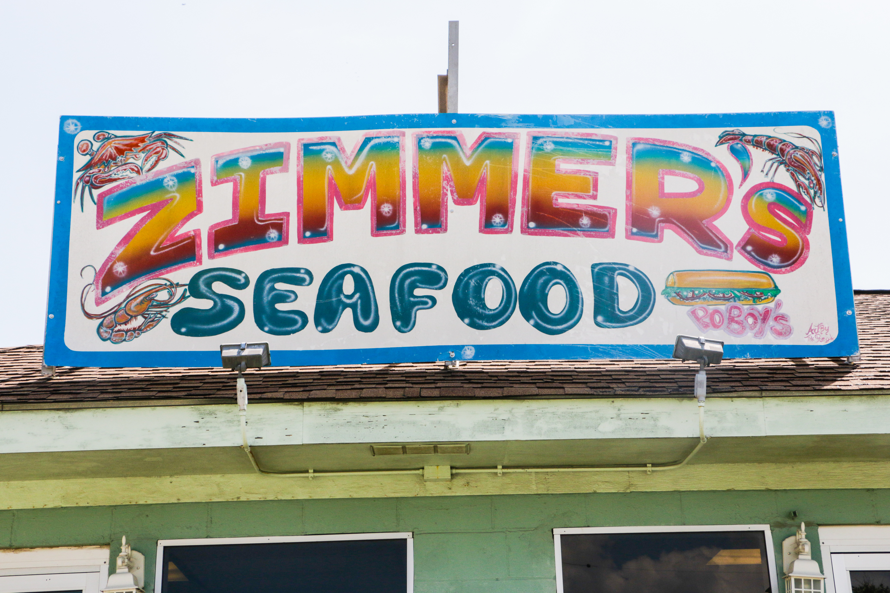Pick up a to-go bag of boils from Zimmer's in Gentilly, and you can indulge in mudbugs anywhere you'd like.