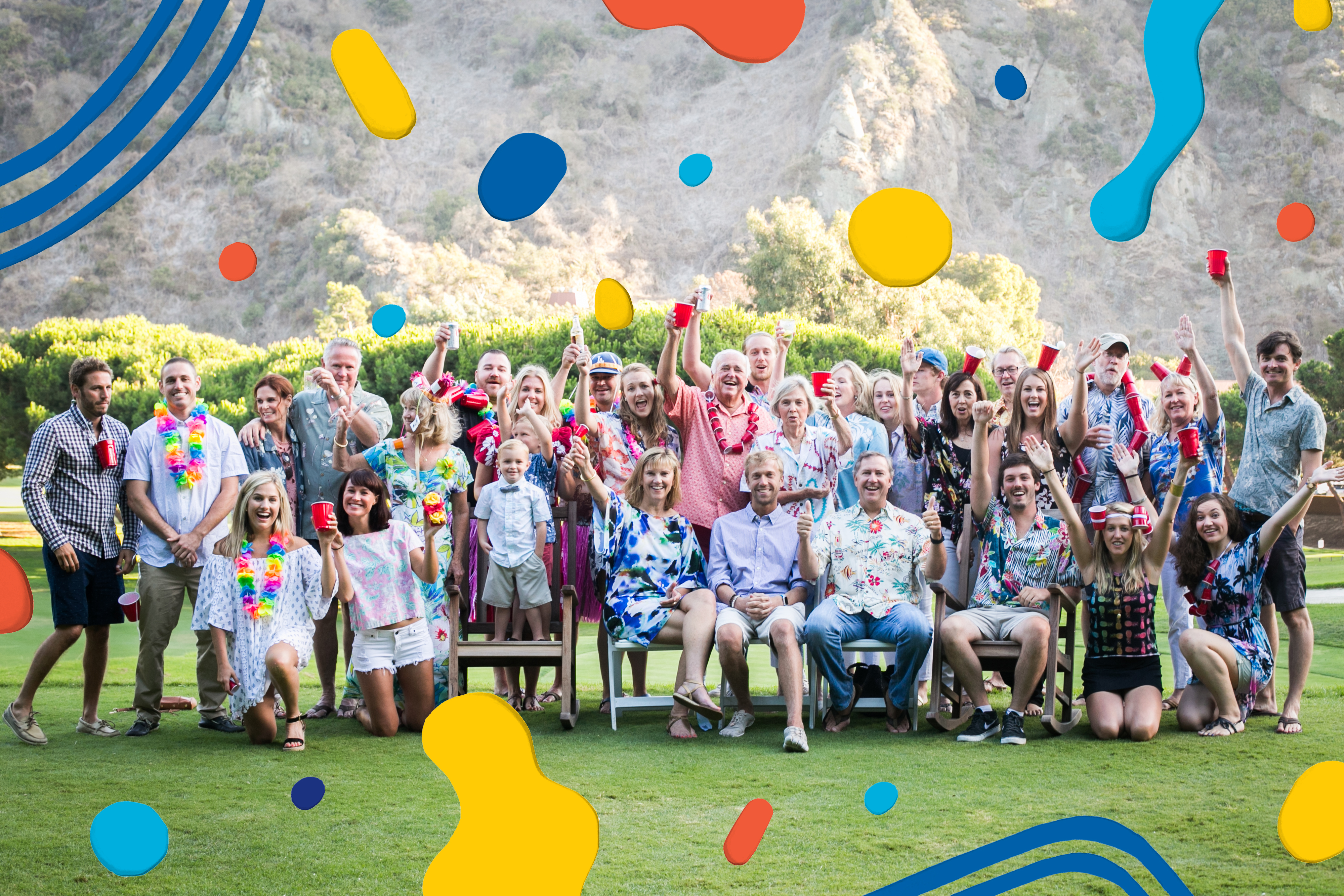 In 2011, Big O married Bombie and the family reunion attendees almost doubled, making for even more merriment.